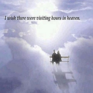I wish There Were Visiting Hours In Heaven